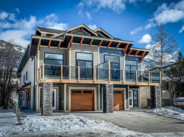 1418 2 Avenue #4, Canmore, AB T1W 1M9 (#C4287697) :: The Cliff Stevenson Group