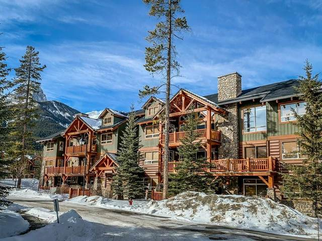 104 Armstrong Place #130, Canmore, AB T1W 3L5 (#C4287810) :: Canmore & Banff