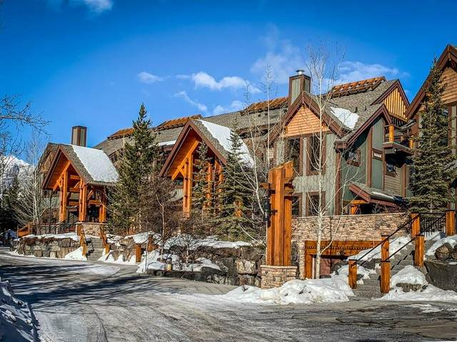 107 Armstrong Place #214, Canmore, AB T1W 3M1 (#C4287920) :: The Cliff Stevenson Group