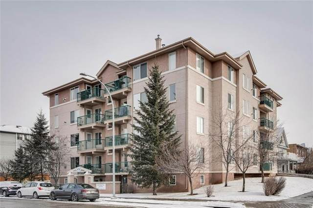 1110 17 Street SW #306, Calgary, AB T3C 3X3 (#C4287953) :: The Cliff Stevenson Group