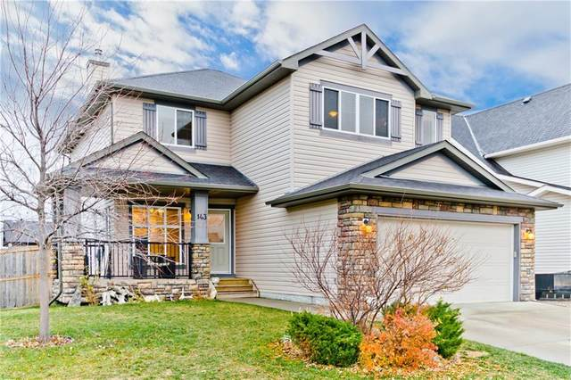 143 Hawkmere View, Chestermere, AB T1X 1T8 (#C4288010) :: Redline Real Estate Group Inc