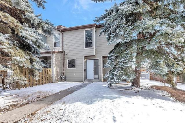 104 Grier Terrace NE #5, Calgary, AB T2K 5Y6 (#C4288256) :: Redline Real Estate Group Inc