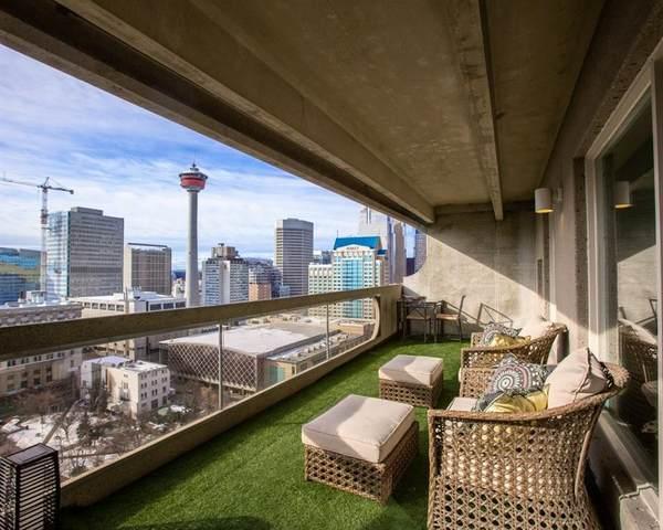 221 6 Avenue SE #2305, Calgary, AB T2G 0G4 (#C4288316) :: The Cliff Stevenson Group