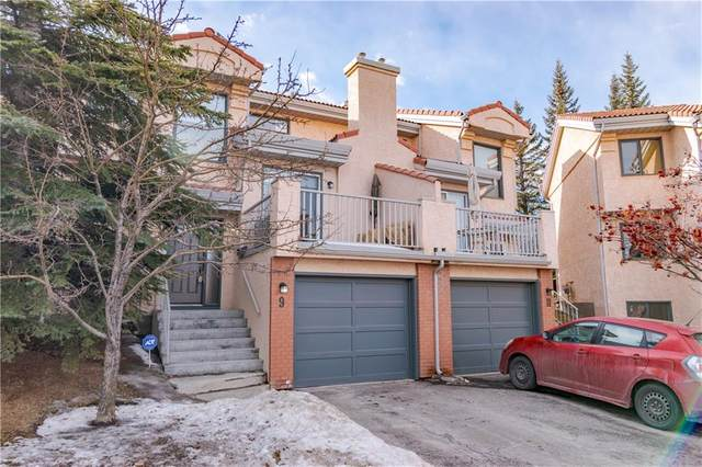 5810 Patina Drive SW #9, Calgary, AB T3H 2Y6 (#C4288354) :: The Cliff Stevenson Group