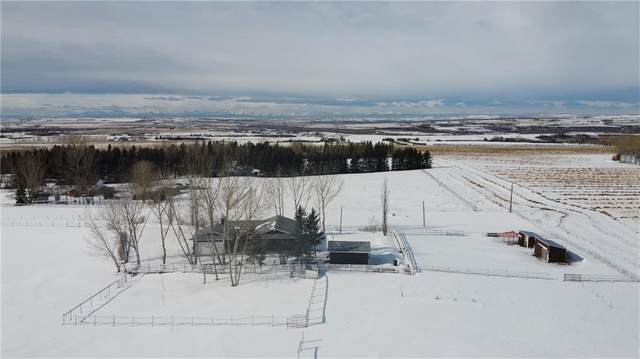 118016 376 Avenue E, Rural Foothills County, AB T1V 1N3 (#C4288369) :: The Cliff Stevenson Group