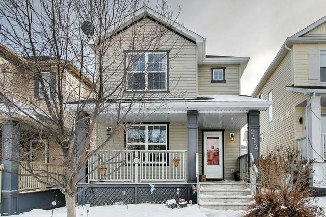 2464 Sagewood Crescent SW, Airdrie, AB T4B 3M9 (#C4288446) :: Western Elite Real Estate Group