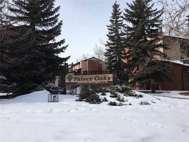 2520 Palliser Drive SW #402, Calgary, AB  (#C4288817) :: The Cliff Stevenson Group