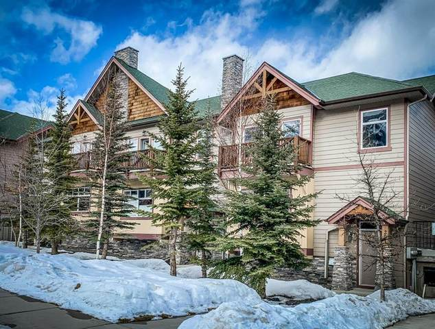 85 Dyrgas Gate #201, Canmore, AB T1W 3L1 (#C4288846) :: ESTATEVIEW (Real Estate & Property Management)