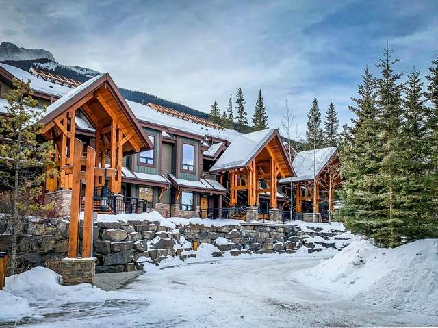 107 Armstrong Place #414, Canmore, AB T1W 3M1 (#C4289052) :: The Cliff Stevenson Group