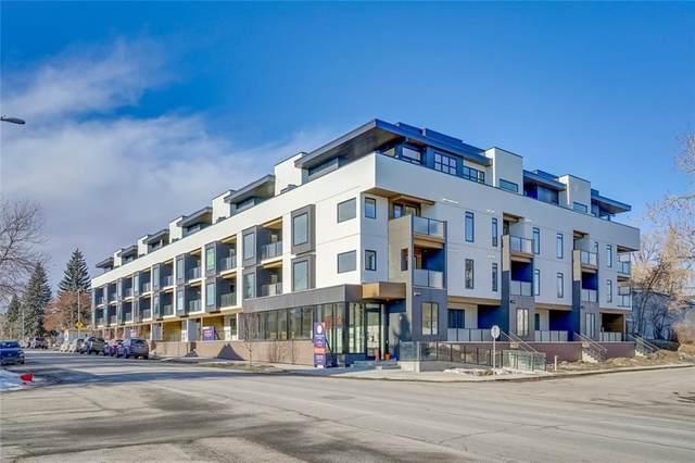 3375 15 Street SW #304, Calgary, AB T2T 4A2 (#C4289545) :: The Cliff Stevenson Group