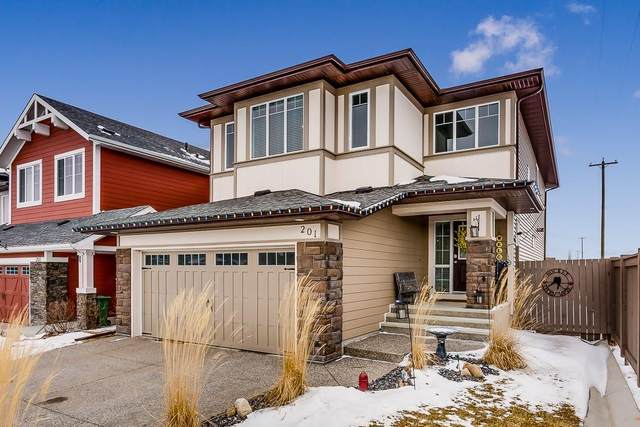 201 Mountainview Drive, Okotoks, AB T1S 0L6 (#C4289554) :: The Cliff Stevenson Group