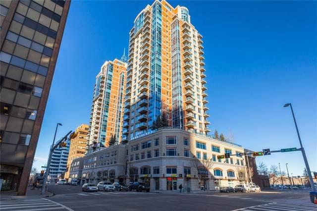 910 5 Avenue SW #1607, Calgary, AB T2P 0C3 (#C4289560) :: The Cliff Stevenson Group