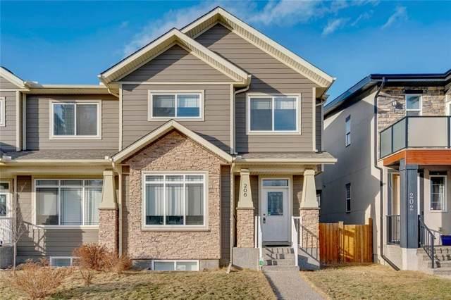 206 20 Avenue NW, Calgary, AB T2M 1C2 (#C4289673) :: The Cliff Stevenson Group