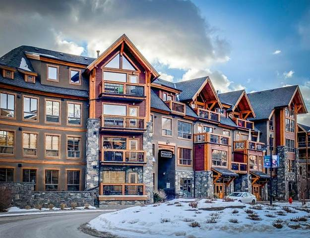 600 Spring Creek Drive #301, Canmore, AB T1W 0C8 (#C4289826) :: Canmore & Banff