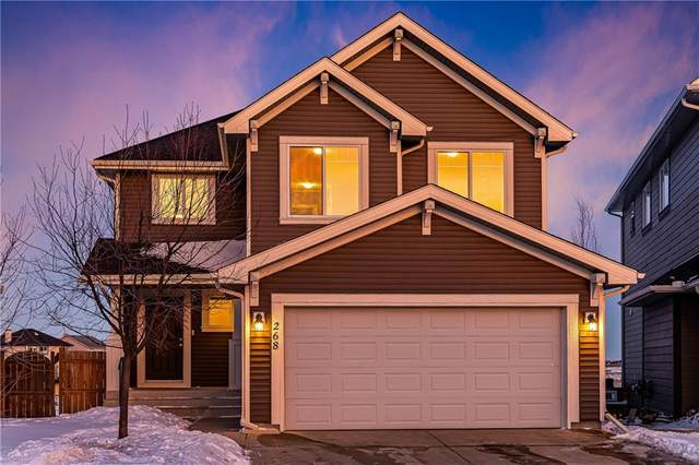 268 Sagewood Landing SW, Airdrie, AB T4B 3N6 (#C4290595) :: The Cliff Stevenson Group