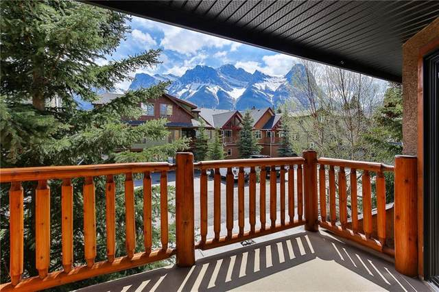825 5 Street #2, Canmore, AB T1W 2G1 (#C4290615) :: Canmore & Banff