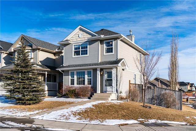 249 Citadel Bluff Close NW, Calgary, AB T3G 5E2 (#C4290619) :: The Cliff Stevenson Group