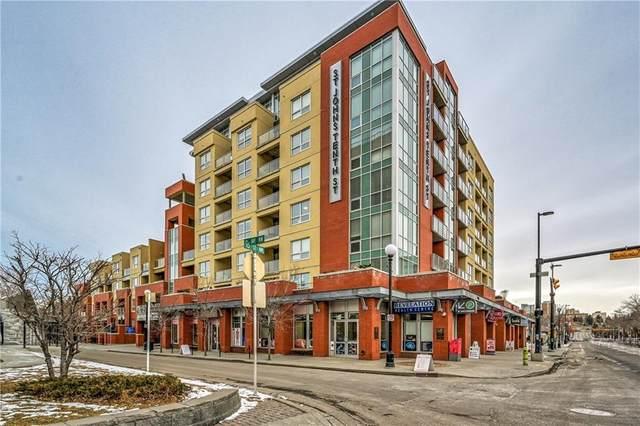 1110 3 Avenue NW #601, Calgary, AB T2N 4J3 (#C4290807) :: The Cliff Stevenson Group