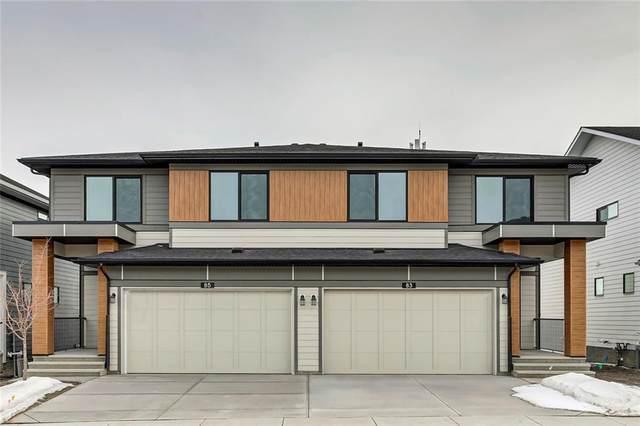 85 Harvest Grove Common NE, Calgary, AB T3K 4T6 (#C4290814) :: The Cliff Stevenson Group