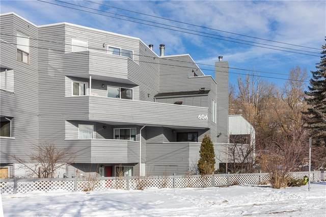 606 3 Avenue NW G, Calgary, AB T2N 0J1 (#C4291161) :: The Cliff Stevenson Group