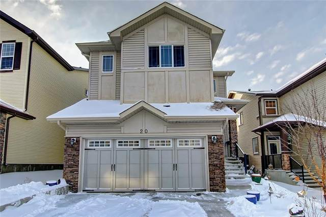 20 Sage Valley Close NW, Calgary, AB T3R 0E2 (#C4291326) :: The Cliff Stevenson Group