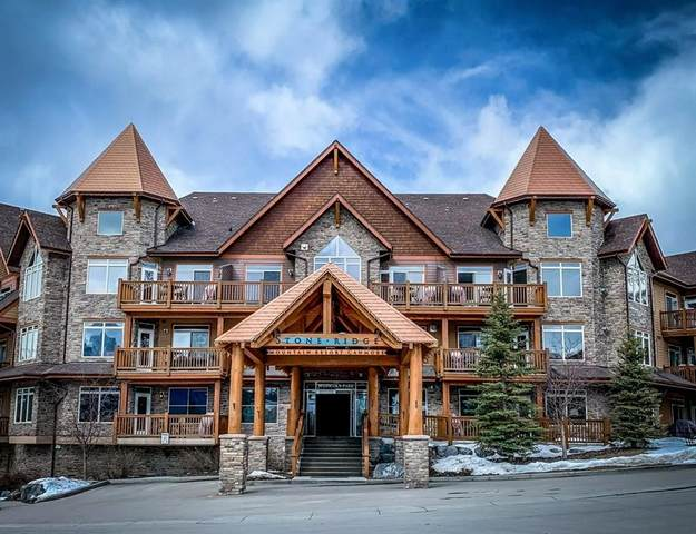 30 Lincoln Park #411, Canmore, AB T1W 3E9 (#C4291360) :: The Cliff Stevenson Group