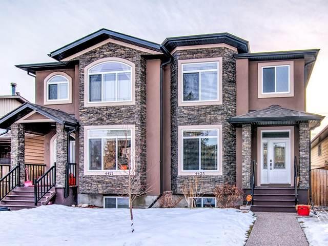 4423 19 Avenue NW, Calgary, AB T3B 0R8 (#C4291418) :: The Cliff Stevenson Group