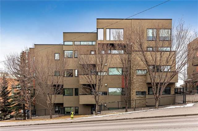 1818 14 Street SW #102, Calgary, AB T2T 3S9 (#C4291466) :: The Cliff Stevenson Group