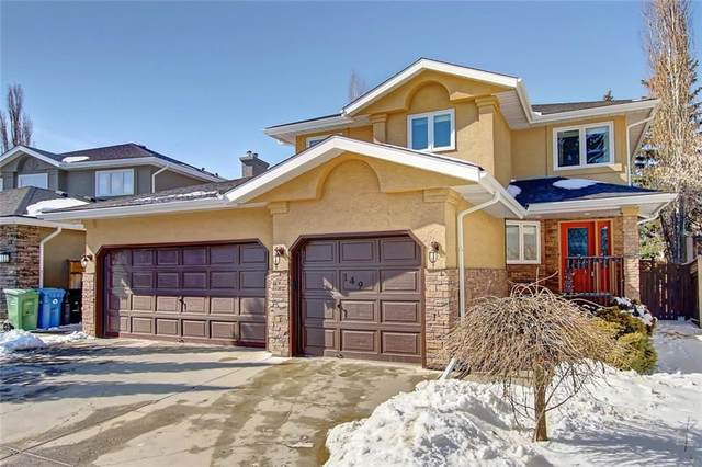149 Mt Sparrowhawk Place SE, Calgary, AB T2Z 2G7 (#C4291498) :: The Cliff Stevenson Group
