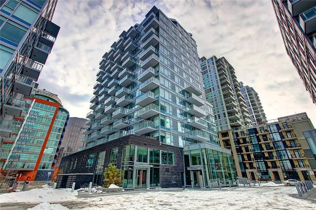 108 Waterfront Court SW #203, Calgary, AB T2P 1K7 (#C4291632) :: The Cliff Stevenson Group