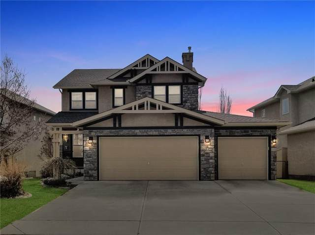 202 Crystal Shores Drive, Okotoks, AB T1S 2L1 (#C4291642) :: The Cliff Stevenson Group
