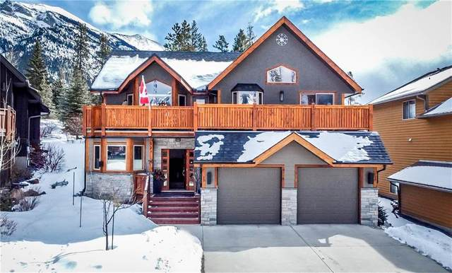 221 Eagle Point(E), Canmore, AB T1W 3E6 (#C4291756) :: The Cliff Stevenson Group