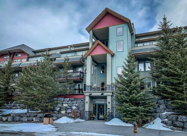 109 Montane Road #306, Canmore, AB T1W 3J2 (#C4291841) :: Canmore & Banff