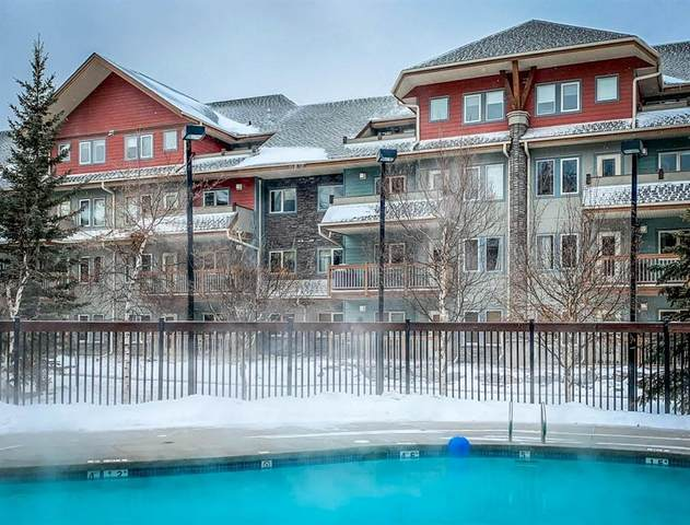 101 Montane Road #214, Canmore, AB T1W 0G2 (#C4291973) :: Canmore & Banff