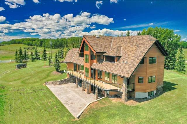 264010 Big Hill Springs Court, Rural Rocky View County, AB T4C 0E5 (#C4291980) :: Canmore & Banff