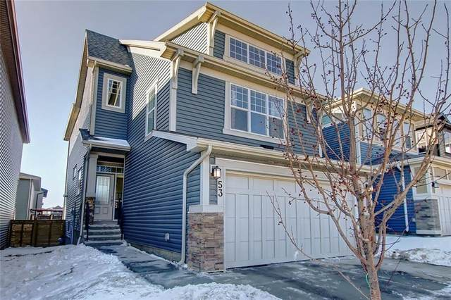 53 Sage Bluff View NW, Calgary, AB T3R 0X5 (#C4291982) :: The Cliff Stevenson Group