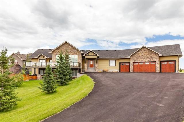212 Brown Bear Point(E), Rural Rocky View County, AB T4C 0B5 (#C4292097) :: The Cliff Stevenson Group
