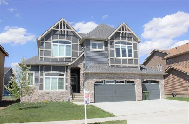 125 Kinniburgh Drive, Chestermere, AB T1X 0T9 (#C4292317) :: Canmore & Banff