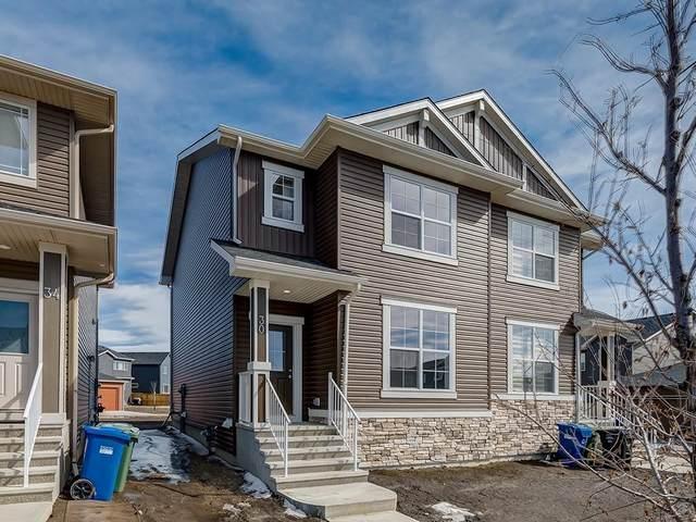 54 Evanston Hill(S) NW, Calgary, AB T3P 1J6 (#C4292353) :: Redline Real Estate Group Inc