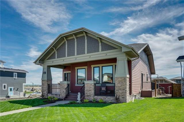 34 Arrowleaf Landing, Rural Rocky View County, AB T3Z 0E1 (#C4292369) :: Calgary Homefinders