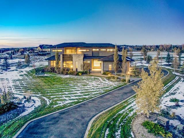 30 Swift Creek Place, Rural Rocky View County, AB T3Z 0B6 (#C4292370) :: The Cliff Stevenson Group