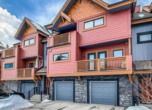 80 Dyrgas Gate #521, Canmore, AB T1W 3M7 (#C4292434) :: Western Elite Real Estate Group