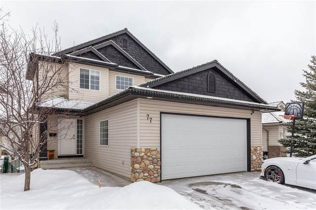 77 Bow Ridge Crescent, Cochrane, AB T4C 1T9 (#C4292435) :: Western Elite Real Estate Group