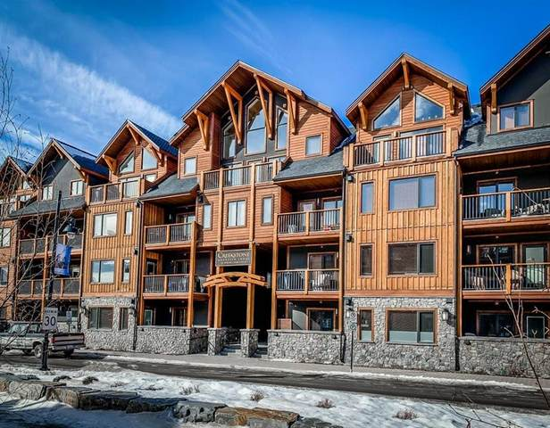 707 Spring Creek Drive #209, Canmore, AB T1W 0K7 (#C4292441) :: Western Elite Real Estate Group