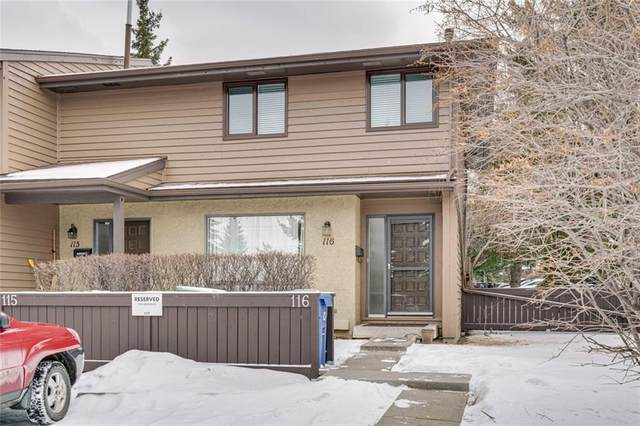 2300 Oakmoor Drive SW #116, Calgary, AB T2V 4N7 (#C4292684) :: The Cliff Stevenson Group