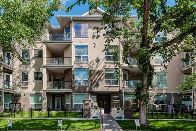 3412 Parkdale Boulevard NW #106, Calgary, AB T2N 3T4 (#C4292744) :: The Cliff Stevenson Group