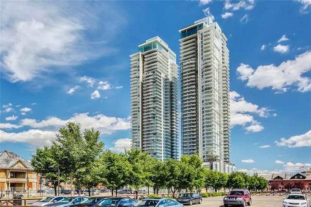 1122 3 Street SE #3604, Calgary, AB T2G 1H7 (#C4292808) :: The Cliff Stevenson Group