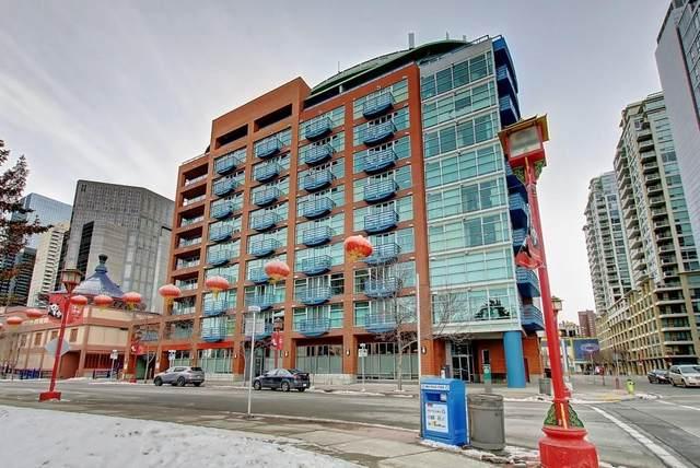 205 Riverfront Avenue SW #304, Calgary, AB T2P 5K4 (#C4292932) :: Calgary Homefinders