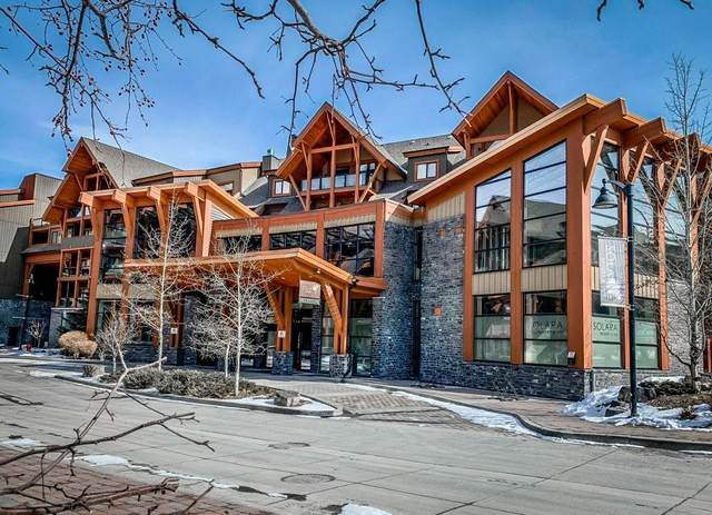 173 Kananaskis Way 117C, Canmore, AB T1W 0A3 (#C4292975) :: The Cliff Stevenson Group
