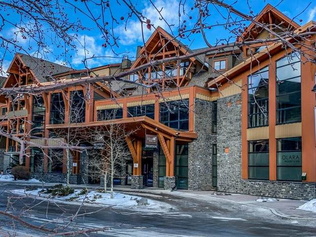 191 Kananaskis Way #302, Canmore, AB T1W 0A3 (#C4292980) :: The Cliff Stevenson Group